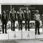 Олимпийские чемпионы в командном зачете : Леднев Павел,Старостин Анатолий, Липеев Евгений.