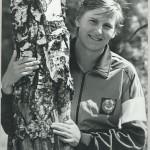 Светлана  Яковлева- советская спортсменка, первая советская чемпионка мира в современном пятиборье среди женщин (1984 г.)